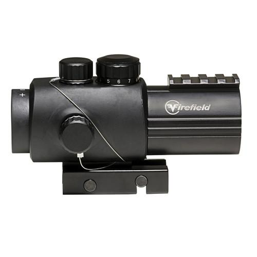 Firefield 3x30 Prismatic Sight with Red-Black Circle Dot FF13027