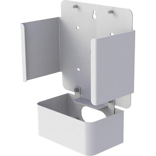 FLEXSON Wall Mount for Sonos Connect:Amp (Gloss White)