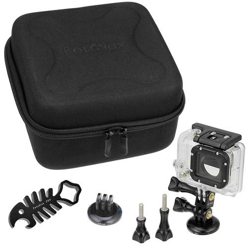 FotodioX GoTough CamCase Double Kit for GoPro HERO1, GT-KITX2-BL