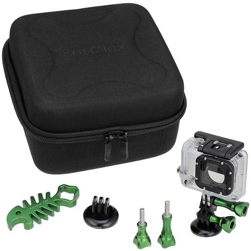 FotodioX GoTough CamCase Double Kit for GoPro HERO1, GT-KITX2-GR