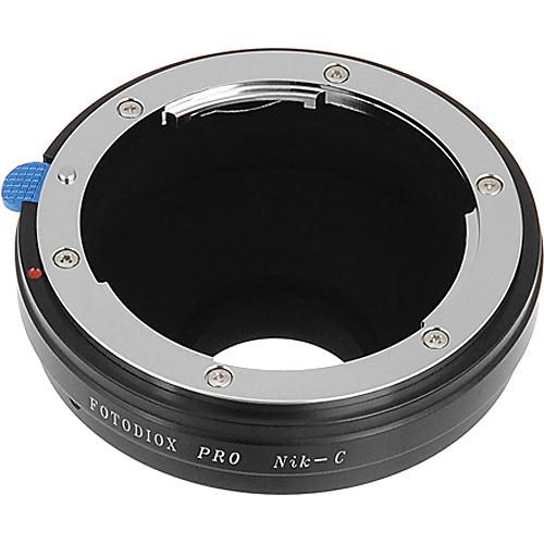FotodioX Nikon F Pro Lens Adapter for C-Mount Cameras NK-C