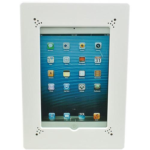 FSR Flush Mount with Back Box and Cover for iPad WE-FMIPD-WHT