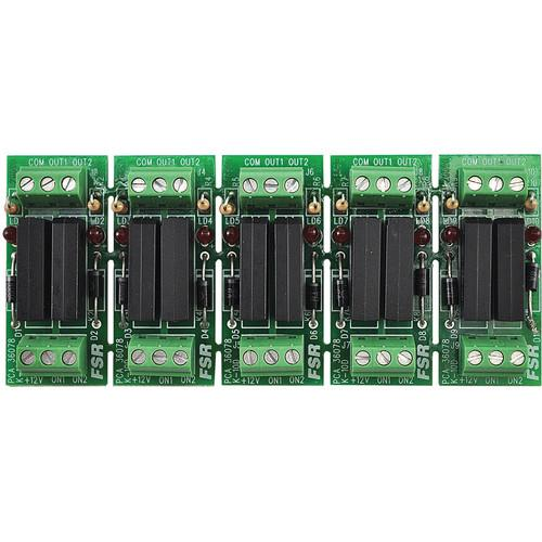 FSR  K-10D 5-Relay Card Set K-10D