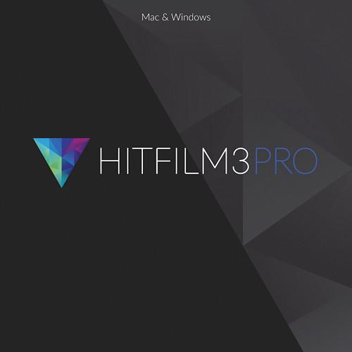 FXHOME HitFilm 3 Pro for Mac or Windows HITFILM 3 PRO