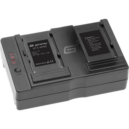 Genaray SpectroLED Essential Sony NP Battery Adapter SP-E-NPBA
