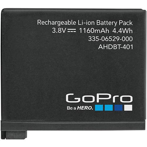 GoPro  Rechargeable Battery for HERO4 AHDBT-401