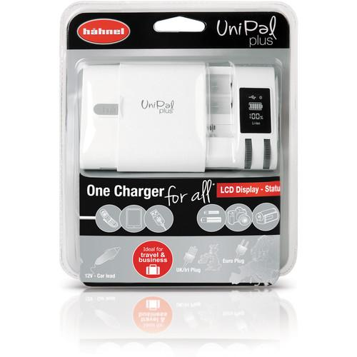 hahnel UniPal Plus Universal Charger for Li-Ion, HL -UNIPALPLUS