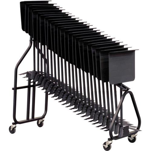 Hamilton Stands KB100 Symphonic Music Stand Storage Cart KB100F
