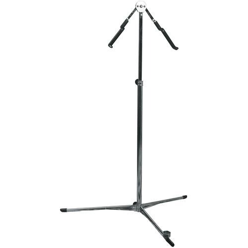 Hamilton Stands KB550 Classic Double Bass Stand (Chrome) KB550