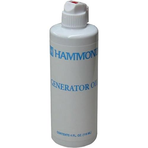 Hammond Generator Oil - 4 OZ Bottle 007-015-025581-4