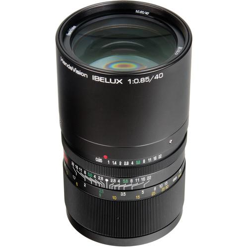 Handevision IBELUX 40mm f/0.85 Lens for Sony E Mount HVIB4085SE