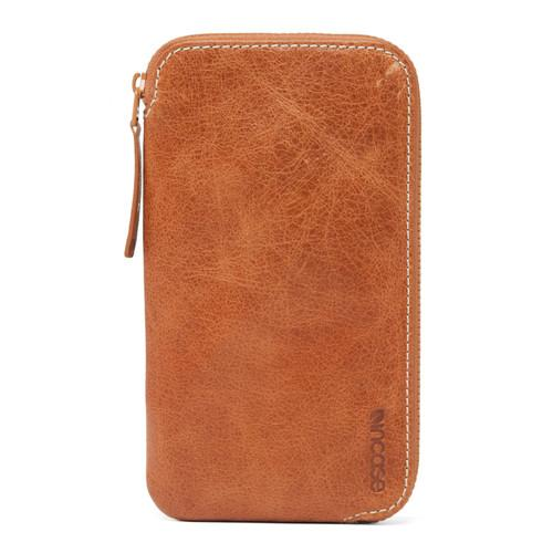 Incase Designs Corp Leather Zip Wallet for iPhone 6/6s/6 ES89071