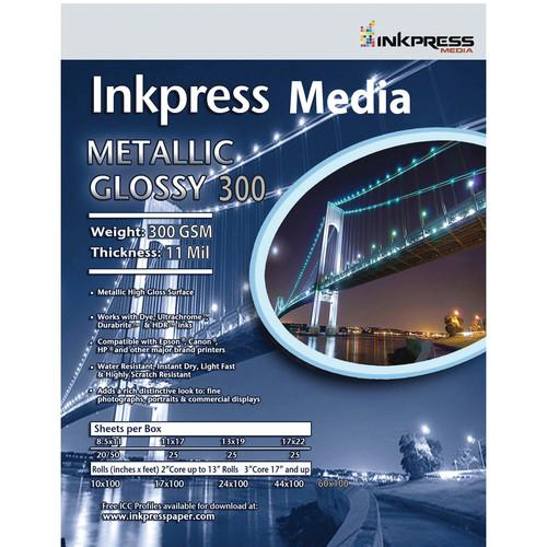Inkpress Media  Metallic Gloss 300 Paper MPH5750