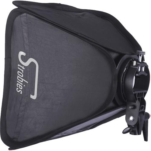 Interfit Strobies S-Type Speedlight Bracket and Softbox STR177