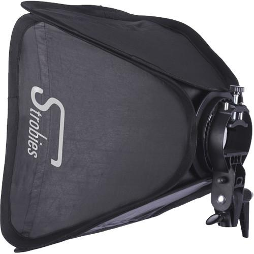 Interfit Strobies S-Type Speedlight Bracket and Softbox STR178