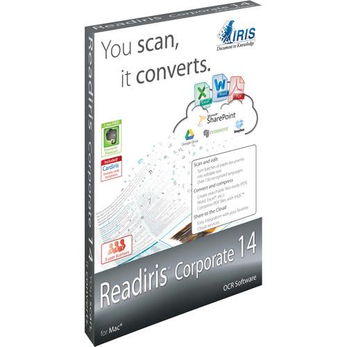 IRIS Readiris Corporate 14 (Mac, Download, 3-Users) 457611
