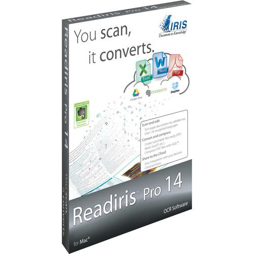 IRIS Readiris Pro 14 (Mac, Download, 1 User) 457609