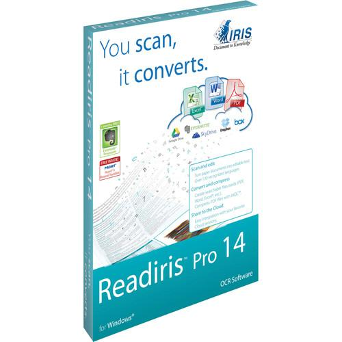 IRIS Readiris Pro 14 (Windows, Download, 1-User) 457608