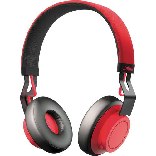 Jabra Move Wireless Bluetooth Headphones (Red) 100-96300002-02