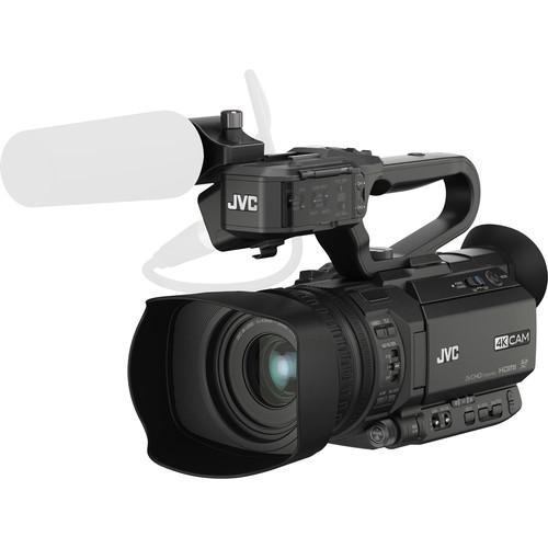 JVC GY-HM200 4KCAM Compact Handheld Camcorder GY-HM200