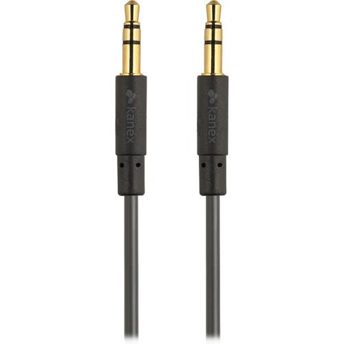 Kanex  Stereo AUX Cable (6', Black) KAUXMM6F
