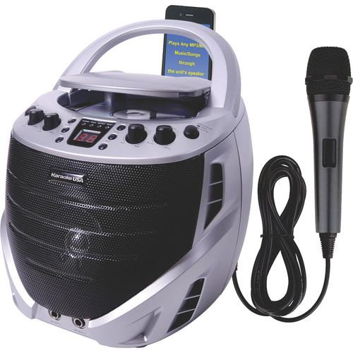 Karaoke USA GQ367 Portable Karaoke CD   G Player GQ367