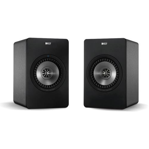 KEF X300A Powered 2-Way Digital Hi-Fi Speakers with USB X300A