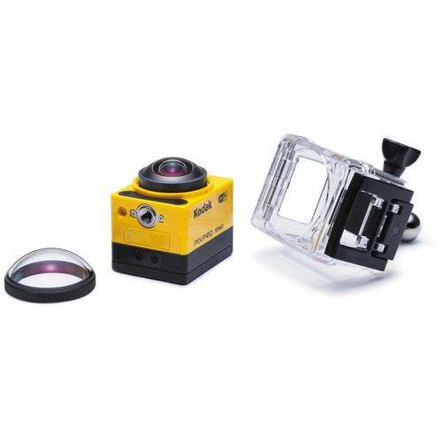 Kodak PIXPRO SP360 Action Camera with Explorer Pack SP360-YL3