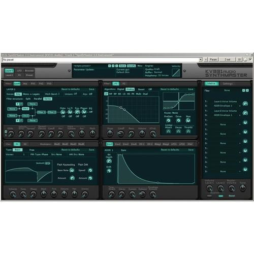 KV331 Audio SynthMaster - Semi-Modular Software 11-33121