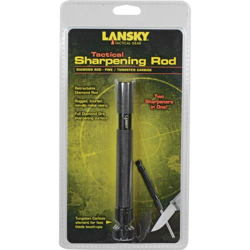 LANSKY Diamond and Carbide Tactical Sharpening Rod LCD02