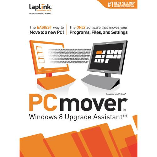 Laplink PCmover Windows 8 Upgrade Assistant PAFGPCMU08000P0RTDEN