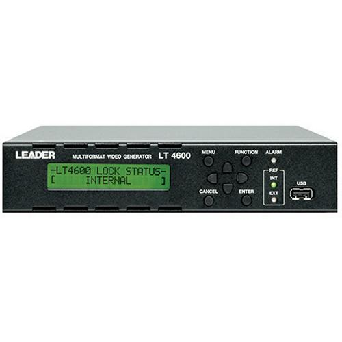 Leader LT4600 Multi Format Video Generator with Lip Sync LT4600