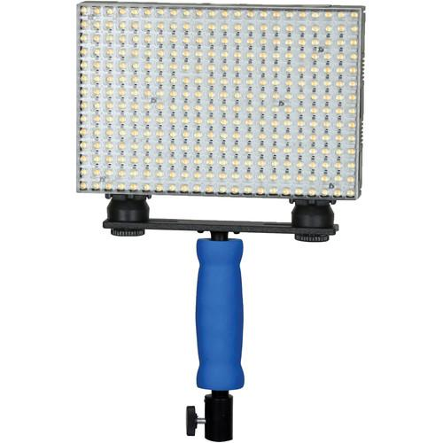 Ledgo 308 Bi-Color On-Camera LED Light with Handle LGB308C1K