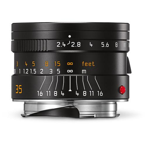 Leica Summarit-M 35mm f/2.4 ASPH Lens (Black) 11671
