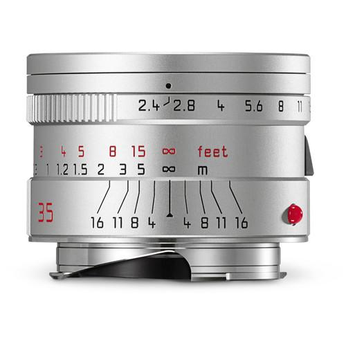 Leica Summarit-M 35mm f/2.4 ASPH Lens (Silver) 11679