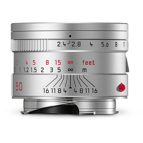 Leica  Summarit-M 50mm f/2.4 Lens (Silver) 11681