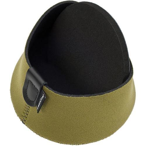 LensCoat Hoodie Lens Hood Cover (XX-Large, Green) LCH2XLLG
