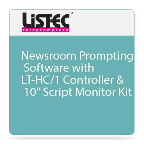 Listec Teleprompters Newsroom Prompting LT-PRONEWS/HC-1M