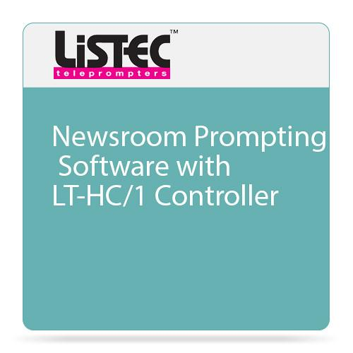 Listec Teleprompters Newsroom Prompting Software LT-PRONEWS/HC-1