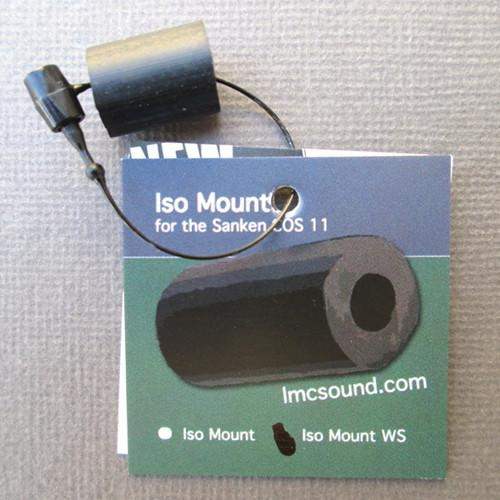 LMC Sound ISO Mount for Sanken COS-11 with WS-11 ISOMTWS-BK