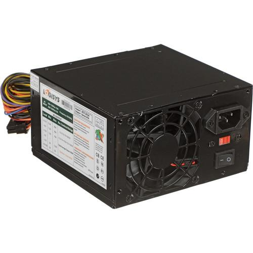 Logisys 480W Black Beauty 20 4 ATX Power Supply PS480D-BK