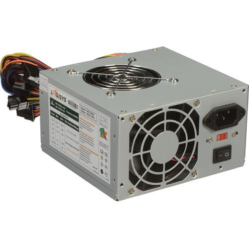 Logisys 480W Dual Fan 20 4 ATX Power Supply PS480D2