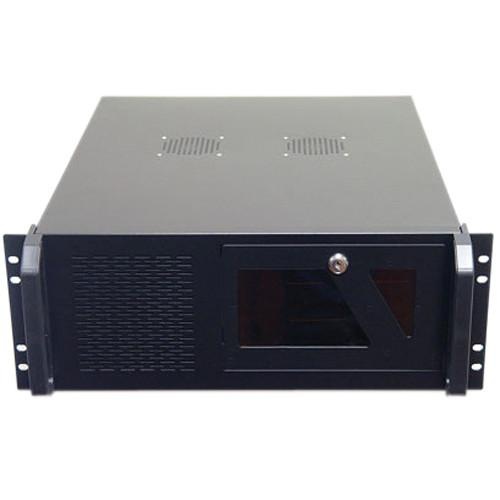 Logisys 4U Industrial Rackmount Case with 3 External CS4802BK