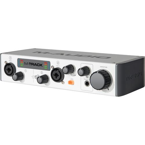 M-Audio MTRACK II - Portable USB Audio Interface M-TRACK II
