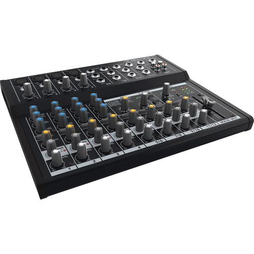 Mackie Mix12FX - 12-Channel Compact Mixer with Effects MIX12FX