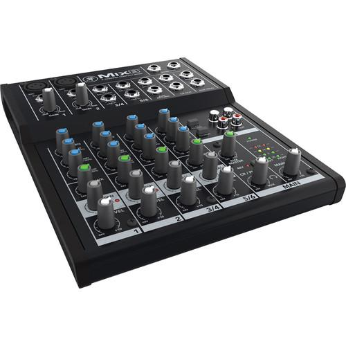 Mackie  Mix8 - 8-Channel Compact Mixer MIX8
