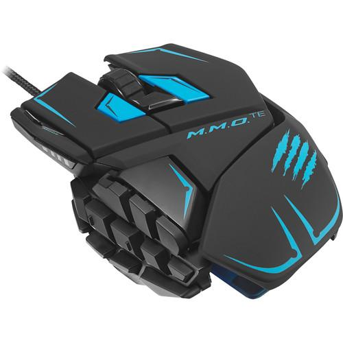 Mad Catz M.M.O. TE Gaming Mouse (Matte Black) MCB437140002/04/1