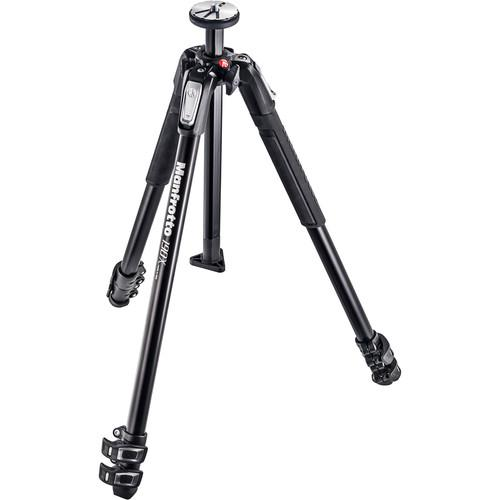 Manfrotto MT190X3 3-Section Tripod with MVH500AH Fluid Video