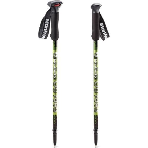 Manfrotto Off road Aluminum Walking Sticks (Green) MMOFFROADG