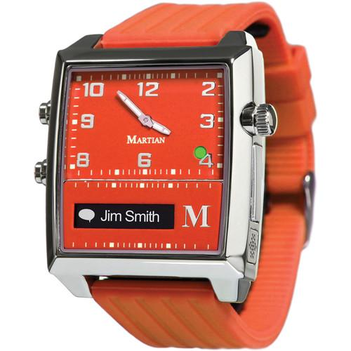 Martian Watches G2G (Red Face & Band) MG100RSR